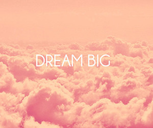 Dream, pink, and big image