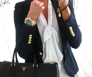black, elegance, and jacket image