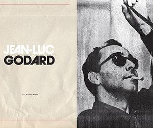 art, sunglasses, and jean-luc godard image