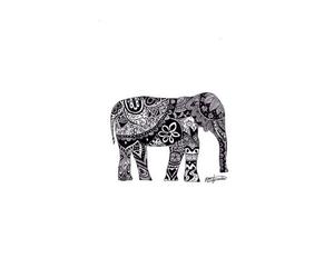 amazing, beautiful, and elephant image