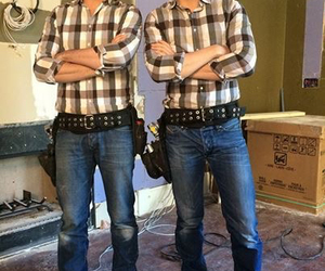 guys, Hot, and plaid image