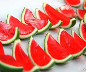 cool, food, and watermelon image