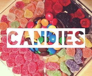 candy, chocolates, and colorful image