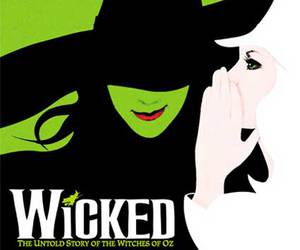 wicked, broadway, and musical image
