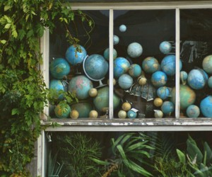 amsterdam, globes, and nature image
