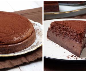 cake, pie, and chocolate image