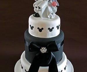 disney, cake, and mickey image