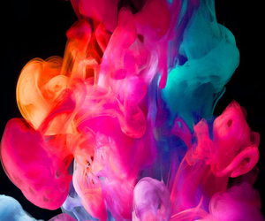 colors, wallpaper, and smoke image