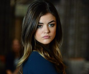 aria, pretty little liars, and lucy hale image
