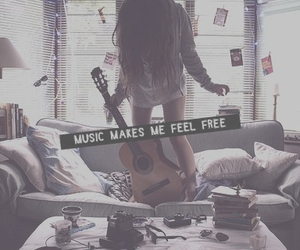 music makes me feel free image