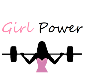 girl, fitness, and power image