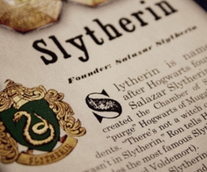 harry potter, slytherin, and hp image