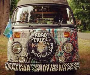 hippie, car, and hipster image