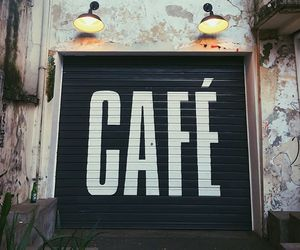 cafe, coffee, and design image