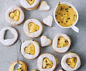 Cookies, passion fruit, and delicious image