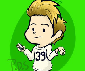 cartoon, niall horan, and one direction image