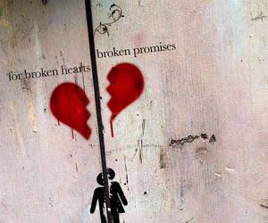 alone, love hurts, and sad image
