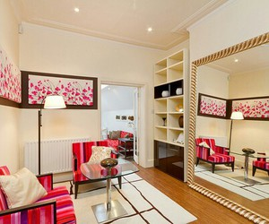 room, pink, and luxury image