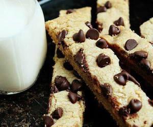 food, chocolate, and milk image