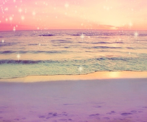 dreamy, lilac, and rose tinted image