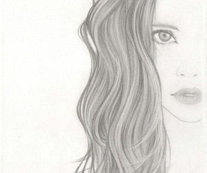 draw and girl image