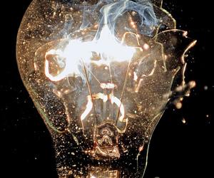 light, dark, and grunge image
