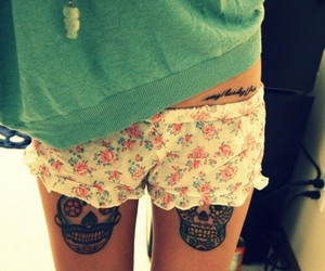 tattoo, girl, and cute image