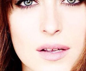 lips, jamie dorman, and dakota johnson image