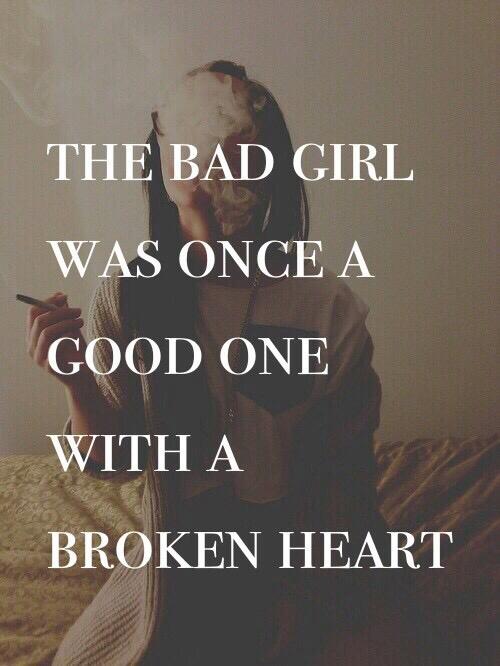 broken, bad, and good image