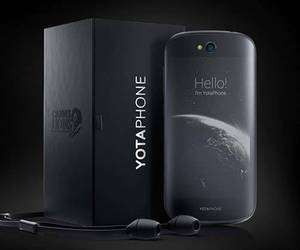 smartphone, android phone, and yotaphone 2 image