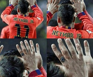 football, fc barcelona, and neymar jr image
