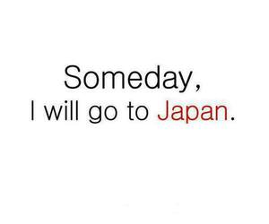 japan, Dream, and someday image