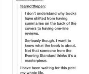 books and tumblr post image