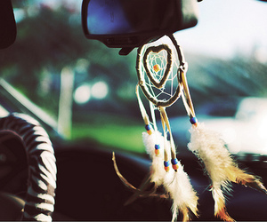 dream catcher and heart image