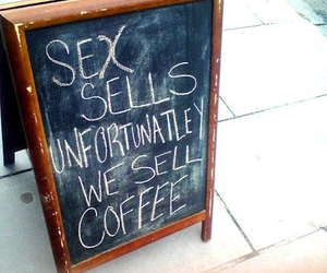 city, sex, and coffee image