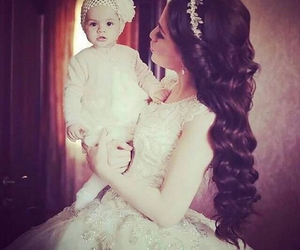 wedding, baby, and dress image