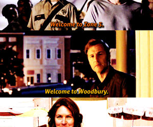 welcome, the walking dead, and twd image