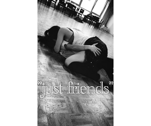 dance, just friends, and kiss image