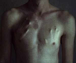 boy, hands, and body image