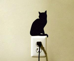 animals, black, and decor image