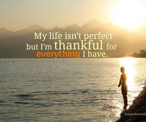 life and thankful image