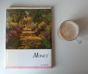 book, art, and claude monet image