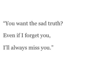 quote, sad, and truth image