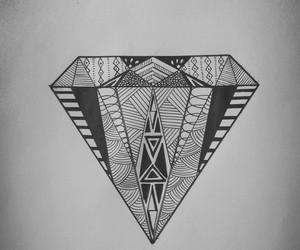 art, diamond, and diy image