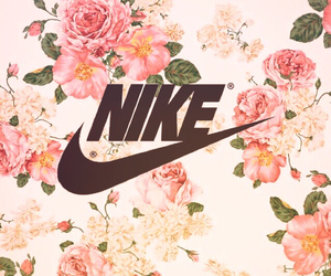 flowers and nike image
