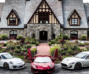 car, rich, and beautiful image