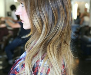 beautiful, ombre, and hair image