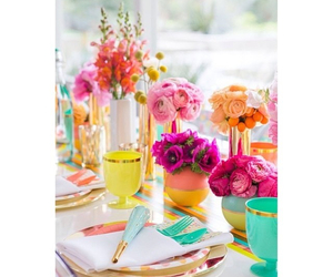 colours, couleurs, and flowers image
