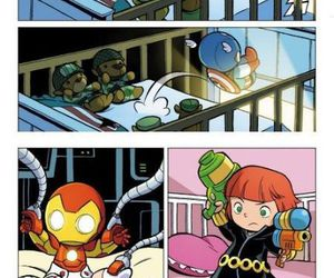 Avengers, thor, and baby image