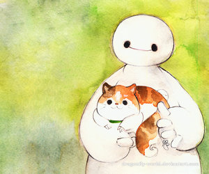 disney, cute, and big hero 6 image